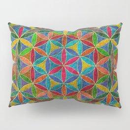 The Flower of Life (Sacred Geometry) 4 Pillow Sham