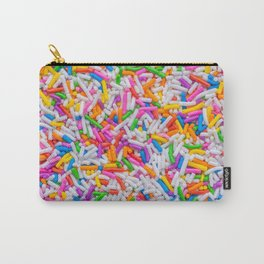 Dessert Rainbow Sprinkles Pattern Carry-All Pouch