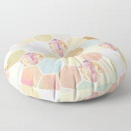 Honey Dripper Floor Pillow