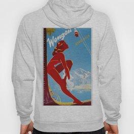 Wengen Switzerland - Vintage Travel Hoody