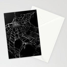Goth SpiderWeb  Stationery Cards