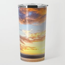 Awaiting Sunset Travel Mug