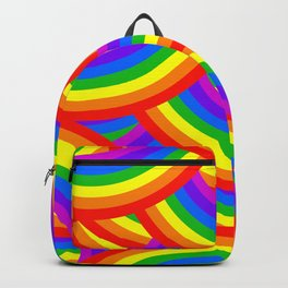 Quote: Be a Rainbow in someone else's cloud. Backpack