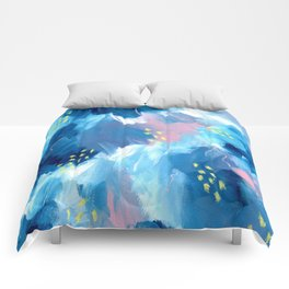 Blue Aesthetic #1 Comforters