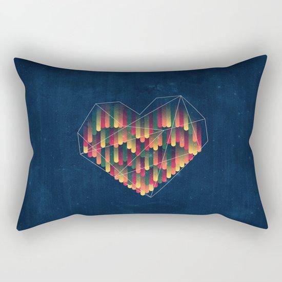 Interstellar Heart II Rectangular Pillow