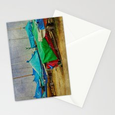 Green Among Blue Stationery Cards