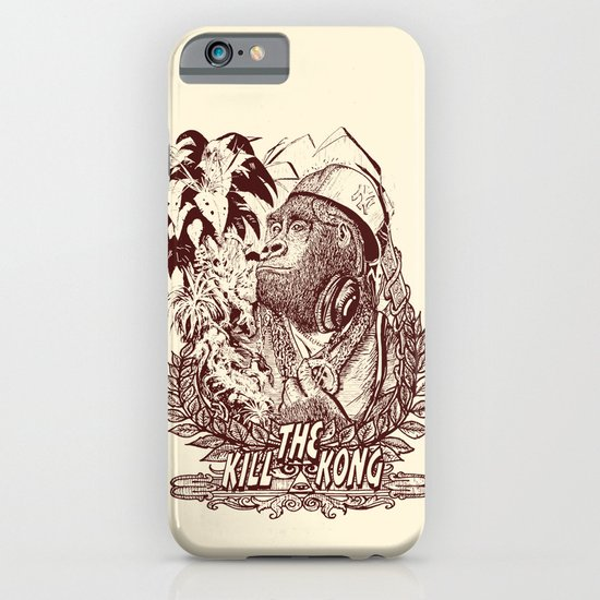 KILL THE KONG iPhone & iPod Case