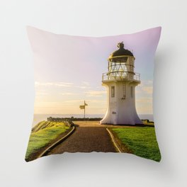 Lighthouse at the Top Throw Pillow
