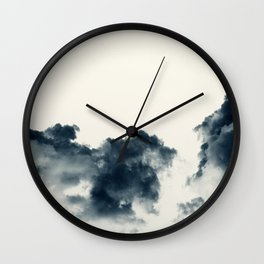 Storm Clouds #3 Wall Clock