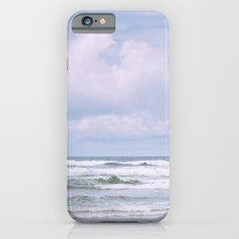 Lilac Sea - Ocean Landscape, Nature Photography iPhone Case