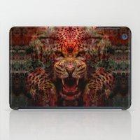 jaguar iPad Cases featuring Jaguar by Zandonai