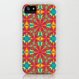 Rainbow Quilt 1 : iPhone & iPod Skins / iPhone Cases / Stationery Cards, Art Print iPhone Case