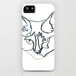 Lined Gracie iPhone Case