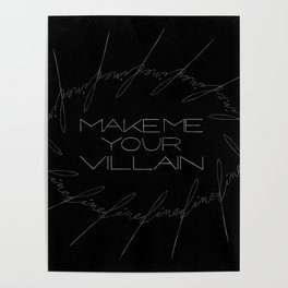 Make Me Your Villain - The Darkling Poster