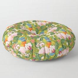 Rainbow Lorikeets Floor Pillow