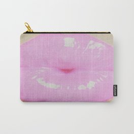 Exaggerate Pouty Lips Carry-All Pouch