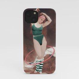 AEROBIC GIRL iPhone Case