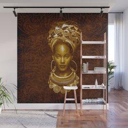 Afrofuturist style Wall Mural