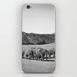 Desert Elephants iPhone Skin