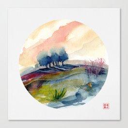 genius Loci 4 Canvas Print