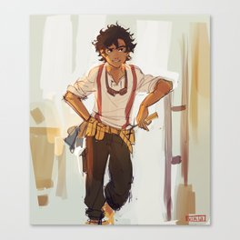 Leo Valdez the best of all Canvas Print