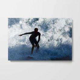 Sports Surfer Boy2 Surf City USA Metal Print