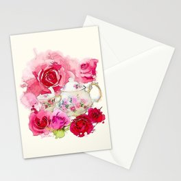 Tea 2 Stationery Cards