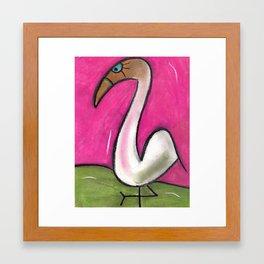 Flo-Mango Framed Art Print