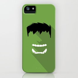Hulk Flat design iPhone Case