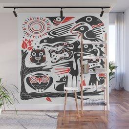 arts ethnicity animal Wall Mural