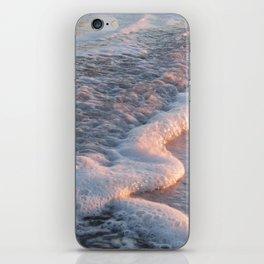 Sea Foam at Sunset iPhone Skin