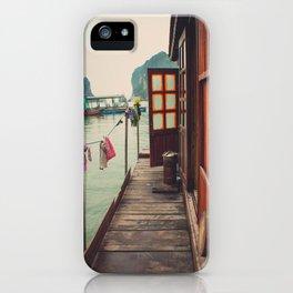 Fisherman's Backyard iPhone Case