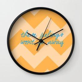Sideways Wall Clock