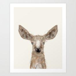 little deer fawn Art Print