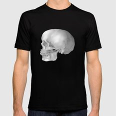 Human Skull Mens Fitted Tee Black MEDIUM