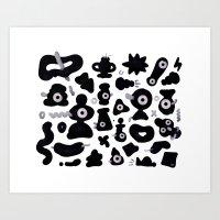 pattern no.101 Art Print