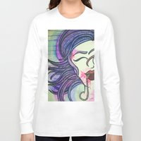 sister Long Sleeve T-shirts featuring Sister by Taylor James
