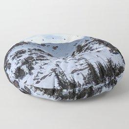 Mammoth Mountain: Dry Creek Floor Pillow