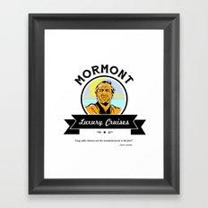 Mormont Luxury Cruises Framed Art Print
