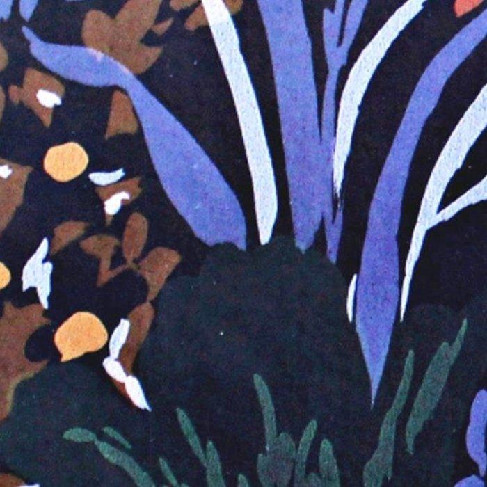Midnight Floral Garden Leggings