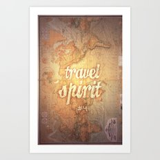 Travel Spirit #4 Art Print