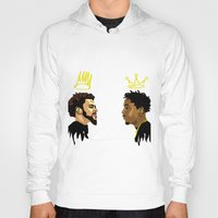kendrick lamar Hoodies featuring 2 Kings. Kendrick Cole by MikeHanz