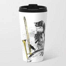 Trombone Warrior Travel Mug