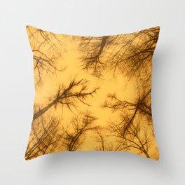 Spooky Trees III Throw Pillow