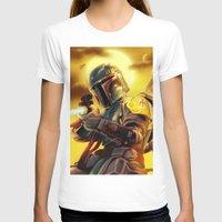 boba fett T-shirts featuring Boba Fett by Andre Horton