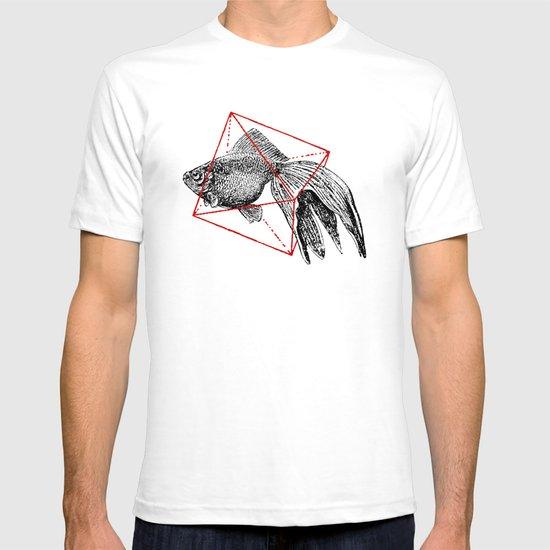 Fish In Geometrics III T-shirt