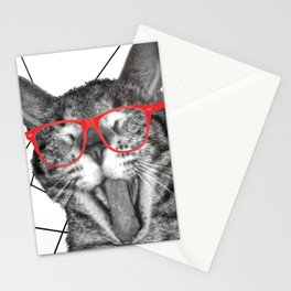 Meatloaf the cat Stationery Cards