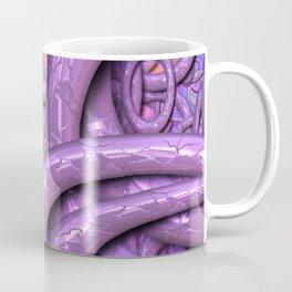 Glossy 3 Pattern lilac Coffee Mug