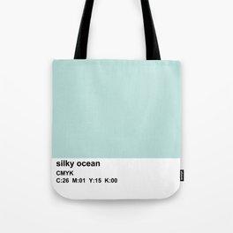 pantone colorblock cmyk blue Tote Bag