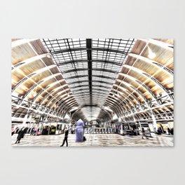 Paddington Station London Art Canvas Print